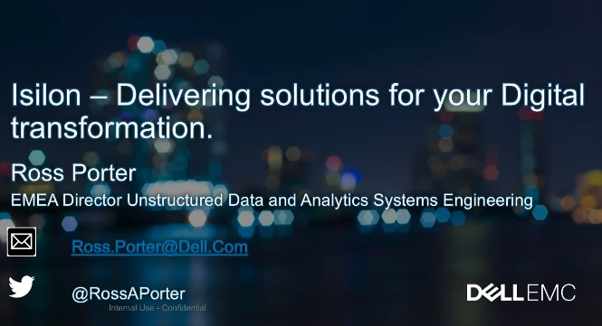 dell-Isilon, Delivering Solutions For Your Digital Transformation-ssa